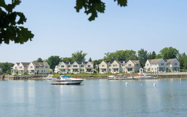 Waterfront Condominium Townhouses at Mariner's Point, Danvers, MA
